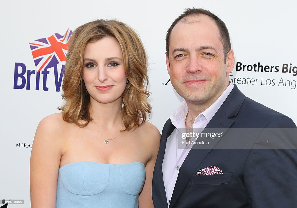 Actress <a gi-track='captionPersonalityLinkClicked' href=/galleries/search?phrase=Laura+Carmichael&family=editorial&specificpeople=7201392 ng-click='$event.stopPropagation()'>Laura Carmichael</a> (L) and Producer <a gi-track='captionPersonalityLinkClicked' href=/galleries/search?phrase=Gareth+Neame&family=editorial&specificpeople=5939160 ng-click='$event.stopPropagation()'>Gareth Neame</a> (R) attend the Britweek celebration of 'Downton Abbey' at Fairmont Miramar Hotel on May 3, 2013 in Santa Monica, California.