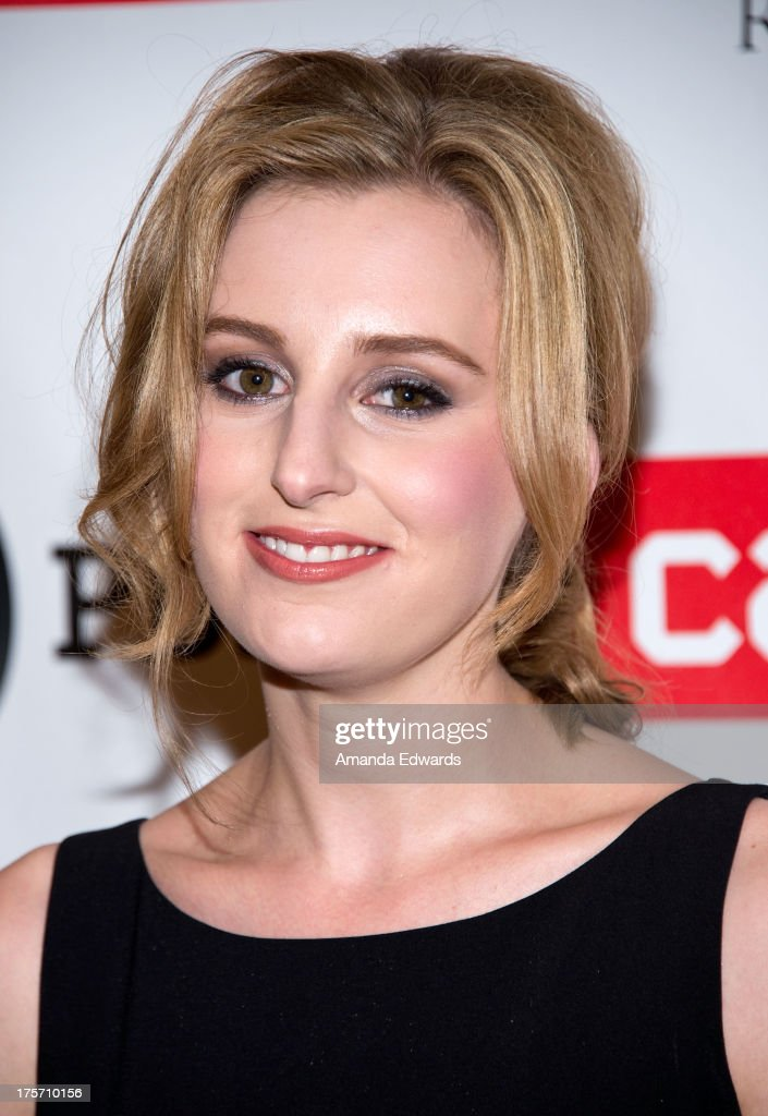 Actress <a gi-track='captionPersonalityLinkClicked' href=/galleries/search?phrase=Laura+Carmichael&family=editorial&specificpeople=7201392 ng-click='$event.stopPropagation()'>Laura Carmichael</a> arrives at the 'Downton Abbey' photo call at The Beverly Hilton Hotel on August 6, 2013 in Beverly Hills, California.