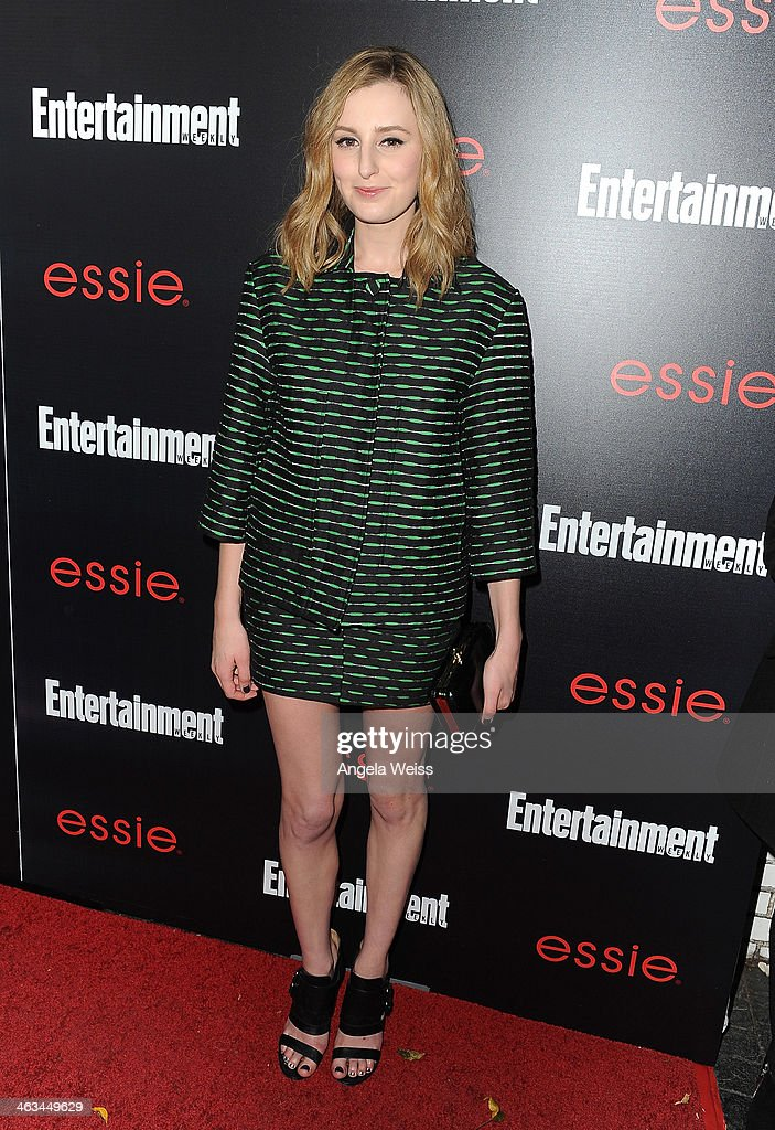 Actress <a gi-track='captionPersonalityLinkClicked' href=/galleries/search?phrase=Laura+Carmichael&family=editorial&specificpeople=7201392 ng-click='$event.stopPropagation()'>Laura Carmichael</a> attends the Entertainment Weekly celebration honoring this year's SAG Awards nominees sponsored by TNT & TBS and essie at Chateau Marmont on January 17, 2014 in Los Angeles, California.