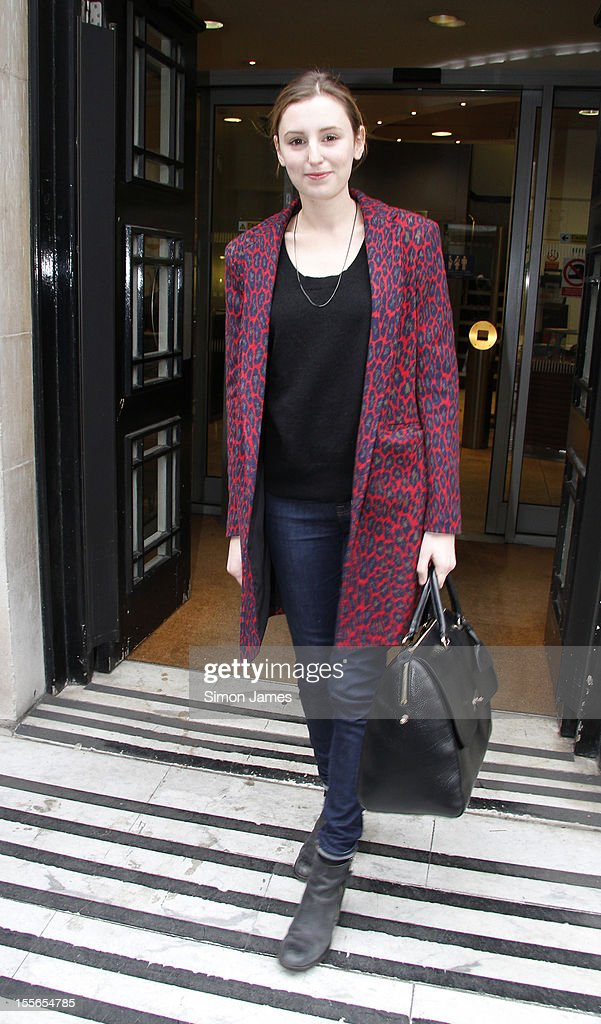 Actress Laura Carmichael from 'Downtown Abbey' sighting at BBC radio two on November 6, 2012 in London, England.