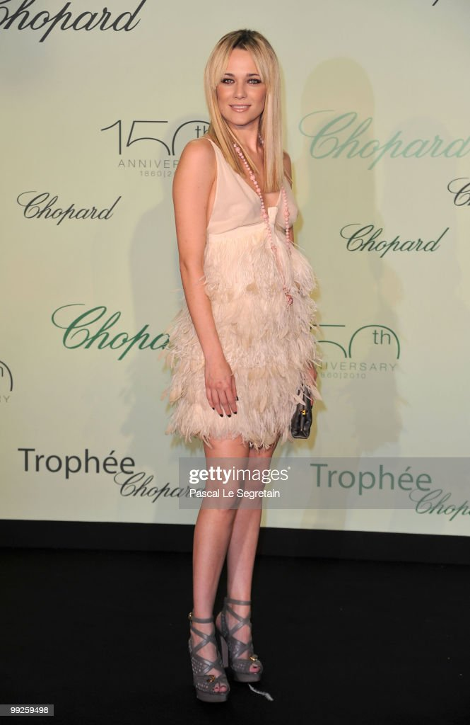 Chopard Trophy Dinner Arrivals:63rd Cannes Film Festival