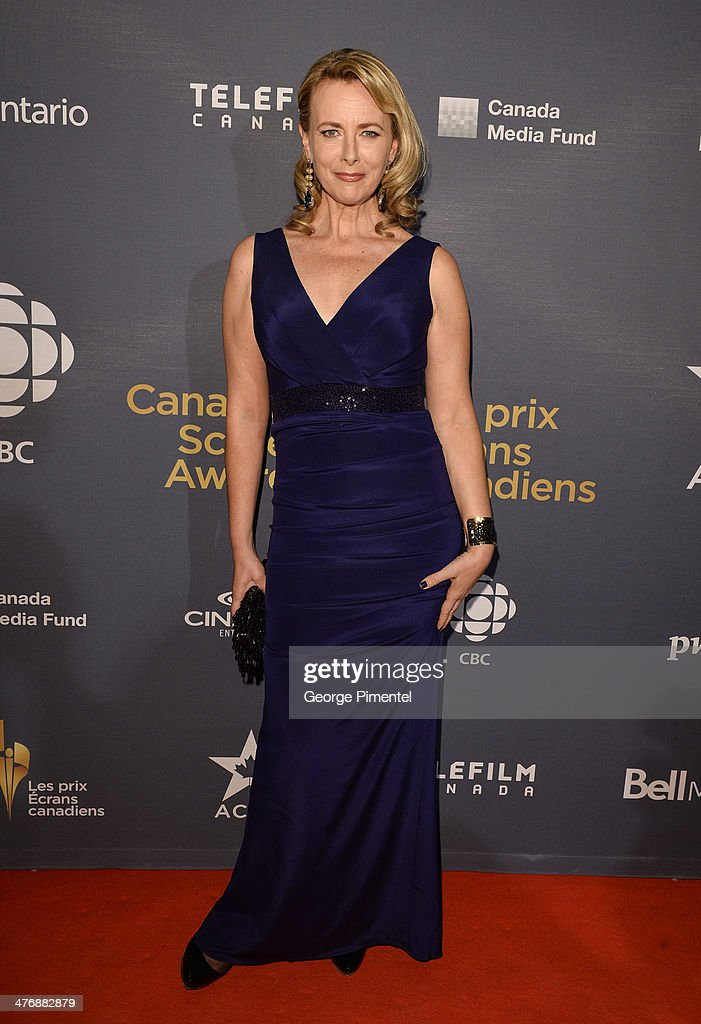 Actress Laura De Carteret attends the 2014 Canadian Screen awards Industry 2at the Sheraton Centre Toronto Hotel on March 5, 2014 in Toronto, Canada.