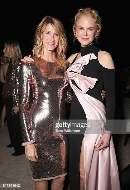 Actress Laura Dern and honoree Nicole Kidman attend the Second Annual 'InStyle Awards' presented by InStyle at Getty Center on October 24 2016 in Los...