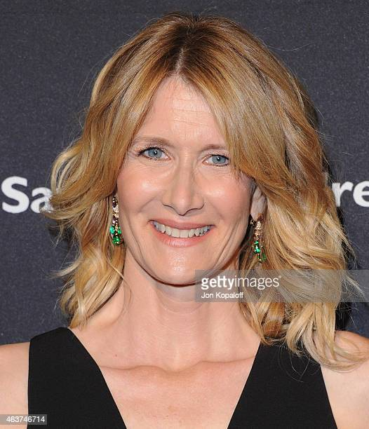 Actress Laura Dern arrives at BVLGARI And Save The Children STOP THINK GIVE PreOscar Event at Spago on February 17 2015 in Beverly Hills California
