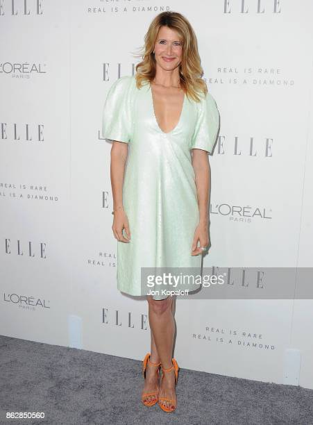 Actress Laura Dern arrives at ELLE's 24th Annual Women in Hollywood Celebration at Four Seasons Hotel Los Angeles at Beverly Hills on October 16 2017...