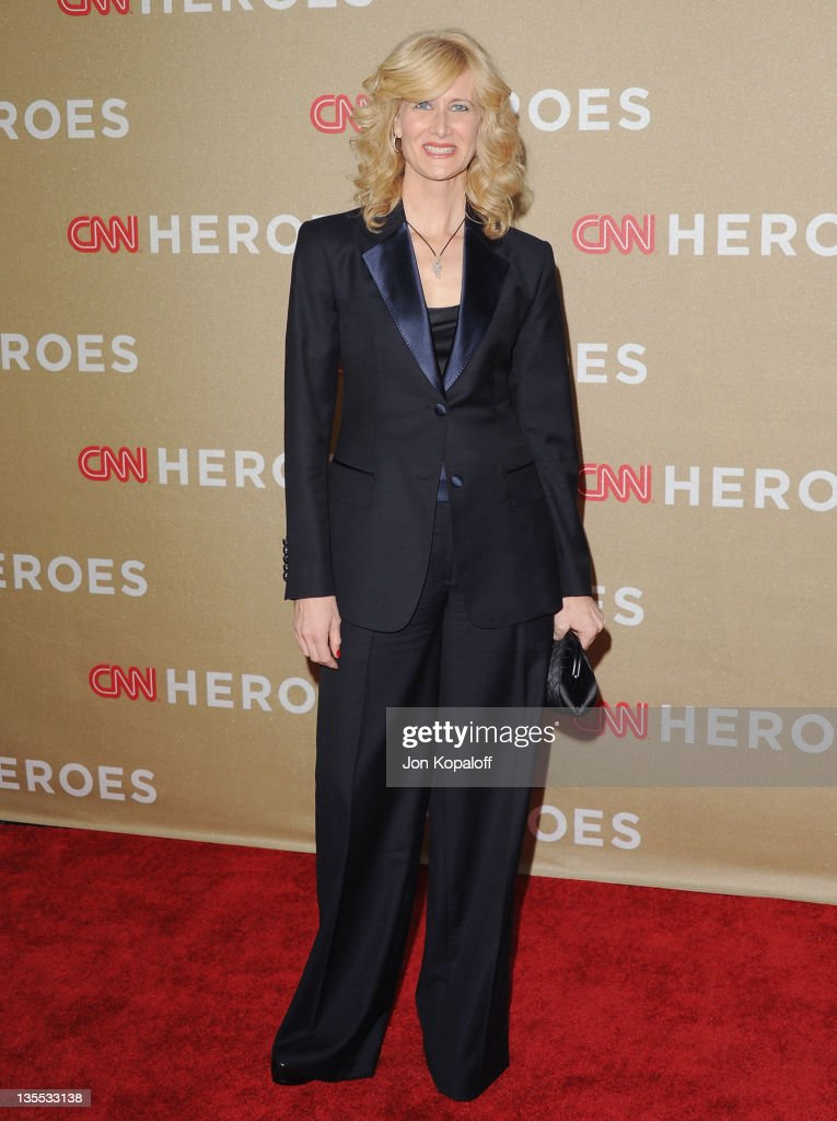 Actress Laura Dern arrives at the 2011 CNN Heroes: An All-Star Tribute at The Shrine Auditorium on December 11, 2011 in Los Angeles, California.