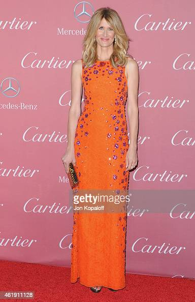 Actress Laura Dern arrives at the 26th Annual Palm Springs International Film Festival Awards Gala Presented By Cartier at Palm Springs Convention...