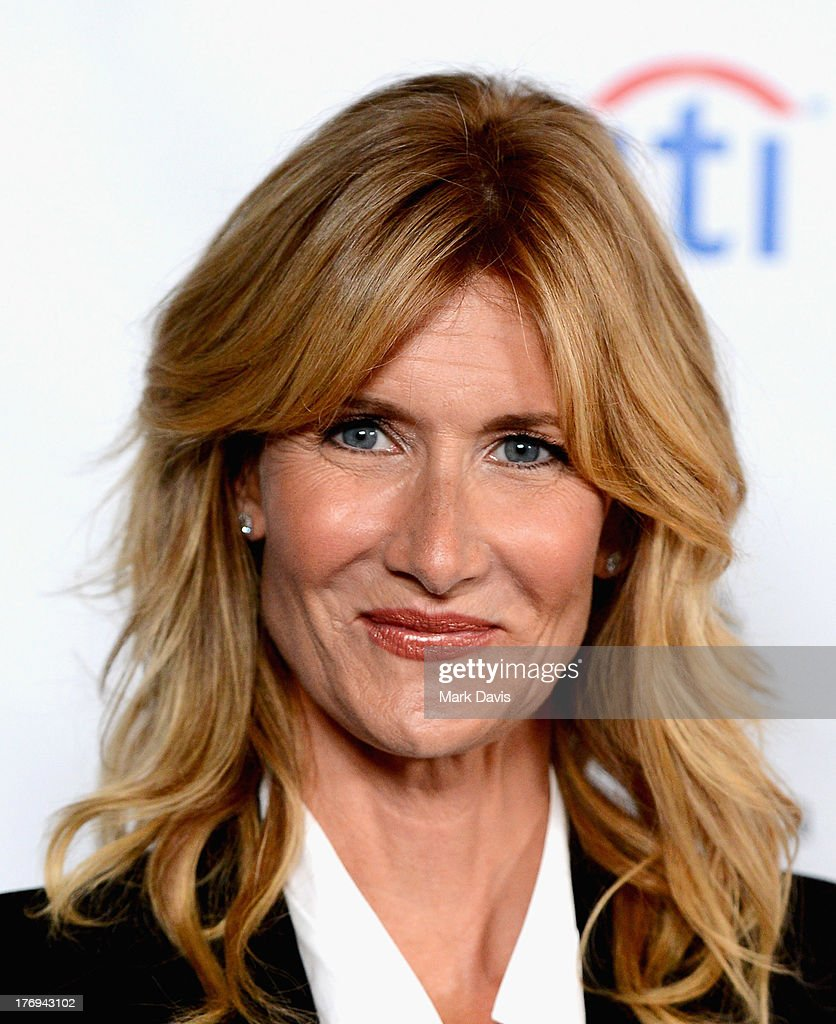 Actress <a gi-track='captionPersonalityLinkClicked' href=/galleries/search?phrase=Laura+Dern&family=editorial&specificpeople=204203 ng-click='$event.stopPropagation()'>Laura Dern</a> arrives at the Academy of Television Arts & Sciences' Performers Peer Group cocktail reception to celebrate the 65th Primetime Emmy Awards at Sheraton Universal on August 19, 2013 in Universal City, California.