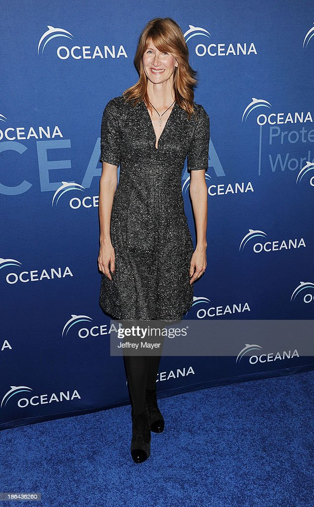 Actress Laura Dern arrives at the Oceana Partners Award Gala With Former Secretary Of State Hillary Rodham Clinton and HBO CEO Richard Plepler at Regent Beverly Wilshire Hotel on October 30, 2013 in Beverly Hills, California.