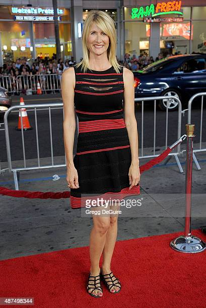 Actress Laura Dern arrives at the premiere of Universal Pictures' 'Everest' at TCL Chinese 6 Theatres on September 9 2015 in Hollywood California