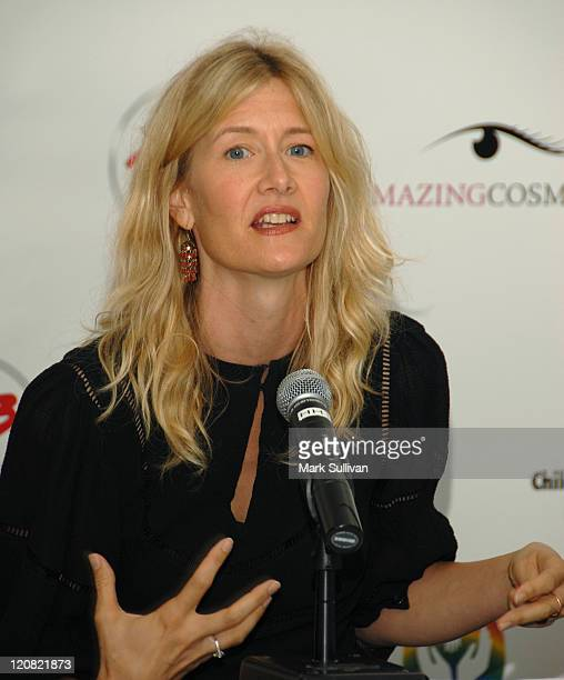 Actress Laura Dern attends 'Day of Beauty' for mothers of patients of Childrens Hospital Los Angeles held in Beverly Hills California on September 26...