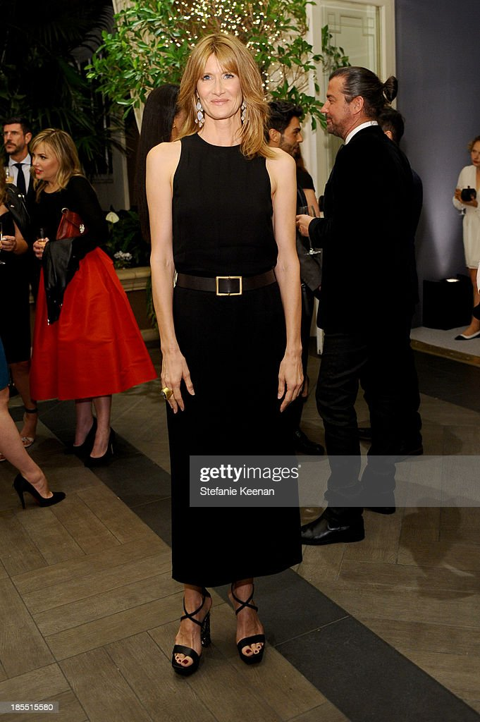 Actress <a gi-track='captionPersonalityLinkClicked' href=/galleries/search?phrase=Laura+Dern&family=editorial&specificpeople=204203 ng-click='$event.stopPropagation()'>Laura Dern</a> attends ELLE's 20th Annual Women In Hollywood Celebration at Four Seasons Hotel Los Angeles at Beverly Hills on October 21, 2013 in Beverly Hills, California.
