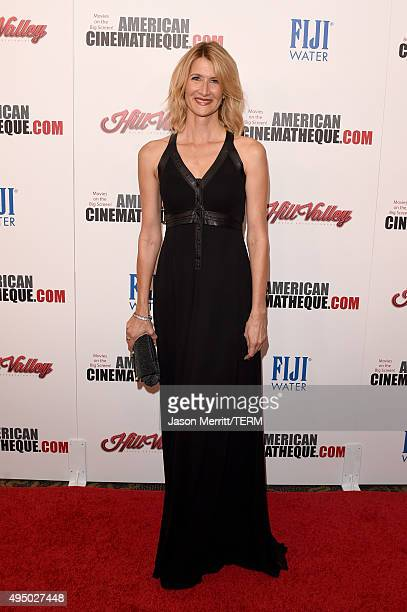 Actress Laura Dern attends the 29th American Cinematheque Award honoring Reese Witherspoon at the Hyatt Regency Century Plaza on October 30 2015 in...