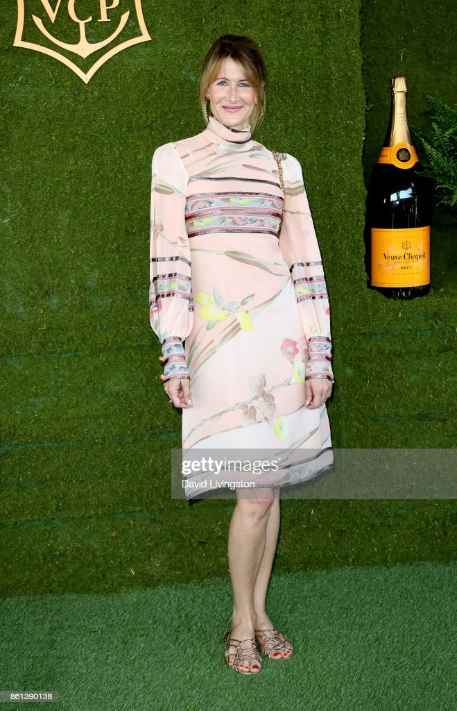 Actress Laura Dern attends the 8th Annual Veuve Clicquot Polo Classic at Will Rogers State Historic Park on October 14, 2017 in Pacific Palisades, California.