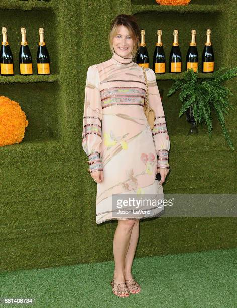 Actress Laura Dern attends the 8th annual Veuve Clicquot Polo Classic at Will Rogers State Historic Park on October 14 2017 in Pacific Palisades...