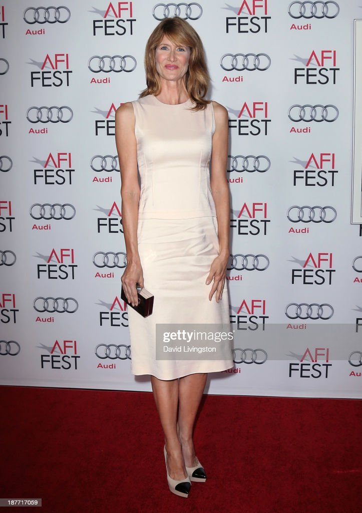Actress <a gi-track='captionPersonalityLinkClicked' href=/galleries/search?phrase=Laura+Dern&family=editorial&specificpeople=204203 ng-click='$event.stopPropagation()'>Laura Dern</a> attends the AFI FEST 2013 presented by Audi screening of 'Nebraska' at the TCL Chinese Theatre on November 11, 2013 in Hollywood, California.