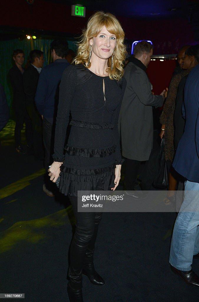 Actress <a gi-track='captionPersonalityLinkClicked' href=/galleries/search?phrase=Laura+Dern&family=editorial&specificpeople=204203 ng-click='$event.stopPropagation()'>Laura Dern</a> attends the 'Enlightened' Season 2 Premiere presented by HBO at Avalon on January 10, 2013 in Hollywood, California.