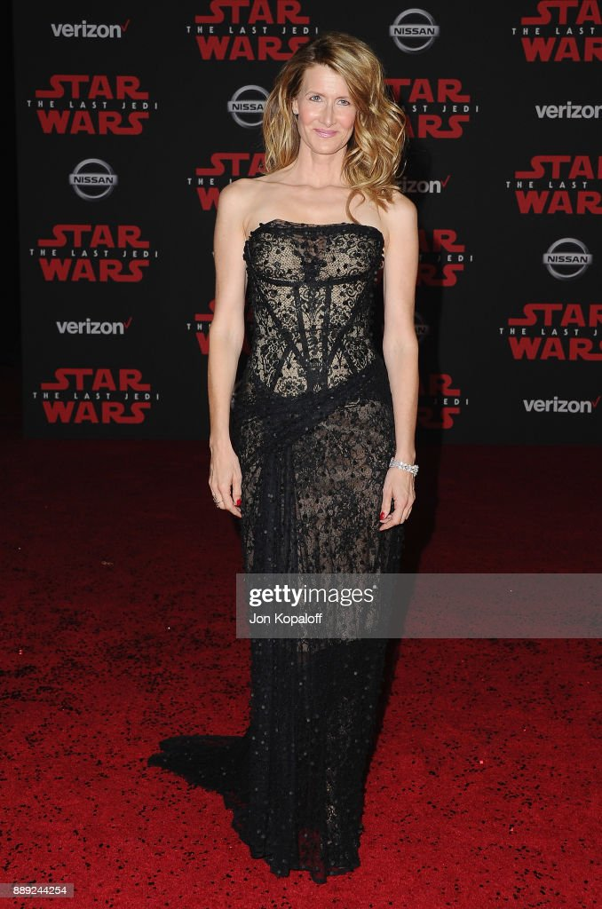 Actress Laura Dern attends the Los Angeles Premiere 'Star Wars: The Last Jedi' at The Shrine Auditorium on December 9, 2017 in Los Angeles, California.