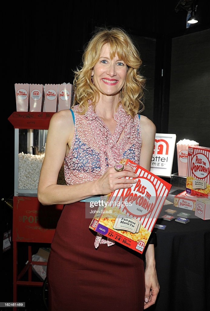 Actress Laura Dern attends the On3 Official Presenter Gift Lounge during the 2013 Film Independent Spirit Awards at Santa Monica Beach on February 23, 2013 in Santa Monica, California.