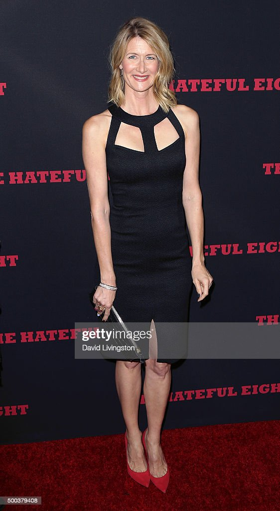 Actress Laura Dern attends the premiere of The Weinstein Company's 'The Hateful Eight' at ArcLight Cinemas Cinerama Dome on December 7, 2015 in Hollywood, California.