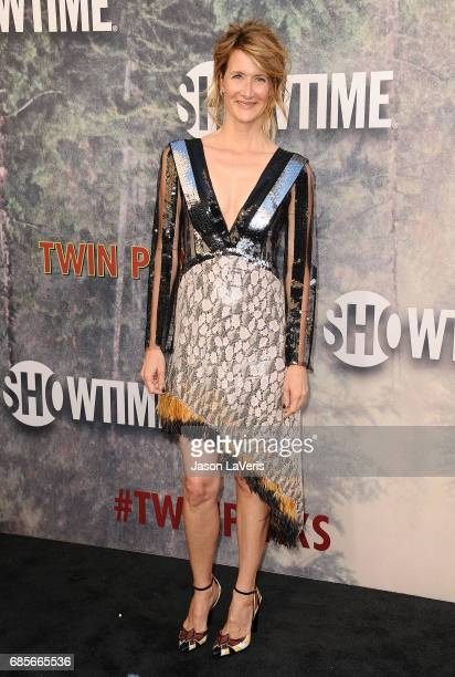 Actress Laura Dern attends the premiere of 'Twin Peaks' at Ace Hotel on May 19 2017 in Los Angeles California