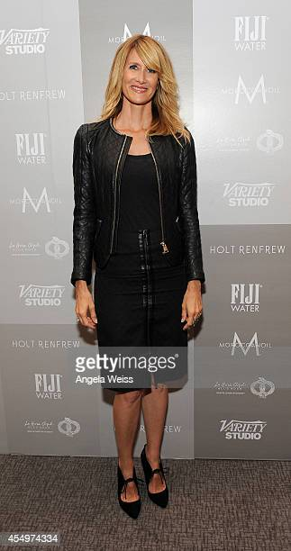 Actress Laura Dern attends the Variety Studio presented by Moroccanoil at Holt Renfrew during the 2014 Toronto International Film Festival on...