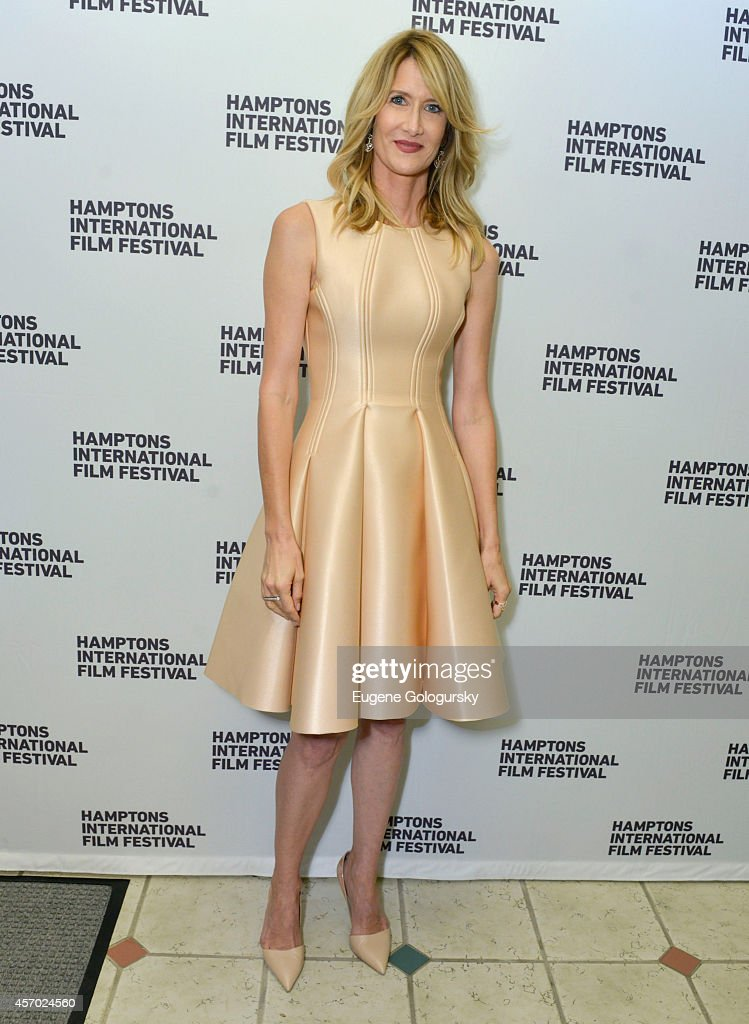 Actress <a gi-track='captionPersonalityLinkClicked' href=/galleries/search?phrase=Laura+Dern&family=editorial&specificpeople=204203 ng-click='$event.stopPropagation()'>Laura Dern</a> attends the Wild premiere during the 2014 Hamptons International Film Festival on October 10, 2014 in East Hampton, New York.