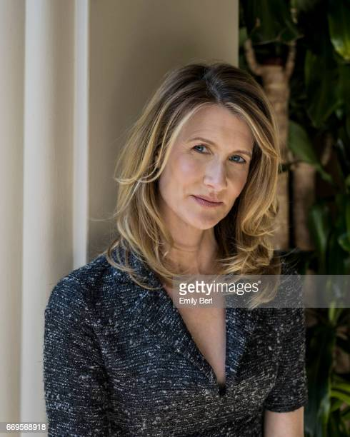 Actress Laura Dern is photographed for New York Times on February 15 2017 in Los Angeles California