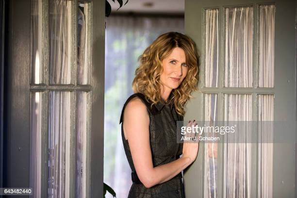 Actress Laura Dern of HBO's TV series 'Big Little Lies' is photographed for Los Angeles Times on January 14 2017 in Los Angeles California PUBLISHED...