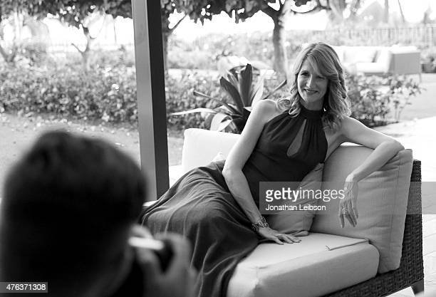 Actress Laura Dern recipient of the 2015 Maui Film Festival Rainmaker Award poses for a portrait during day five of the 2015 Maui Film Festival at...