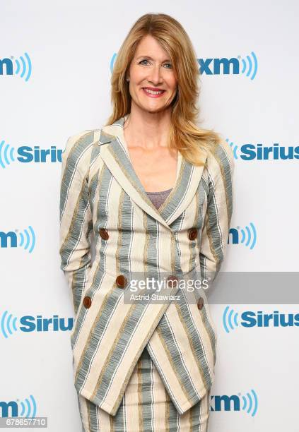 Actress Laura Dern visits the SiriusXM Studios on May 4 2017 in New York City