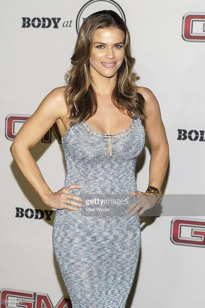 Actress Laura Easterlin arrives at ESPN the Magazine's 'Body Issue' 5th annual ESPY's event at Lure on July 16, 2013 in Hollywood, California.