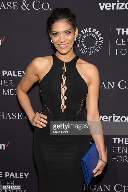 Actress Laura Gomez attends the 2016 Paley Center for Media's Tribute To Hispanic Achievements In Television at Cipriani Wall Street on May 18 2016...