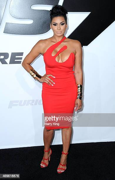 Actress Laura Govan arrives at the Los Angeles Premiere 'Furious 7' at TCL Chinese Theatre IMAX on April 1 2015 in Hollywood California