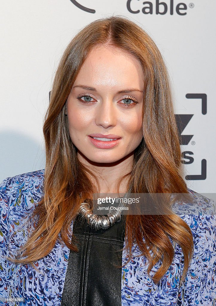 Actress <a gi-track='captionPersonalityLinkClicked' href=/galleries/search?phrase=Laura+Haddock&family=editorial&specificpeople=4949007 ng-click='$event.stopPropagation()'>Laura Haddock</a> of the show 'Da Vinci's Demons' attends the Starz Sleep No More Event at The McKittrick Hotel on October 10, 2013 in New York City.