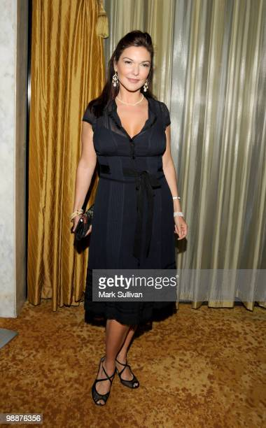Actress Laura Harring arrives for Simon Wiesenthal Center's 2010 Humanitarian Award Ceremony at the Beverly Wilshire hotel on May 5 2010 in Beverly...