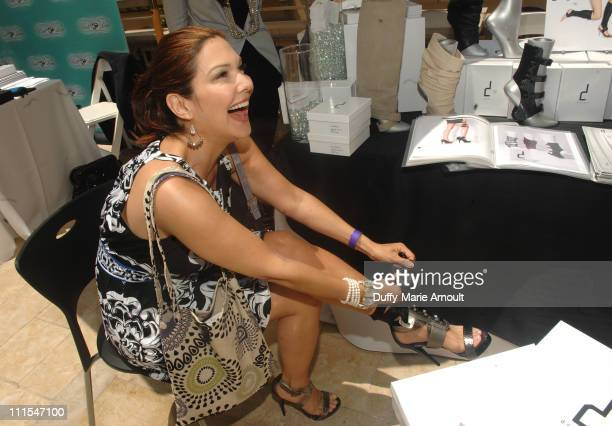 Actress Laura Harring attends the Kari Feinstein MTV Movie Awards Style Lounge held at Montage Beverly Hills on June 3 2010 in Beverly Hills...