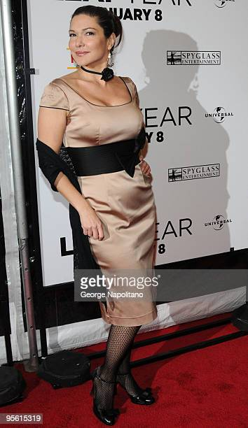 Actress Laura Harring attends the premiere of 'Leap Year' at the Directors Guild Theatre on January 6 2010 in New York City