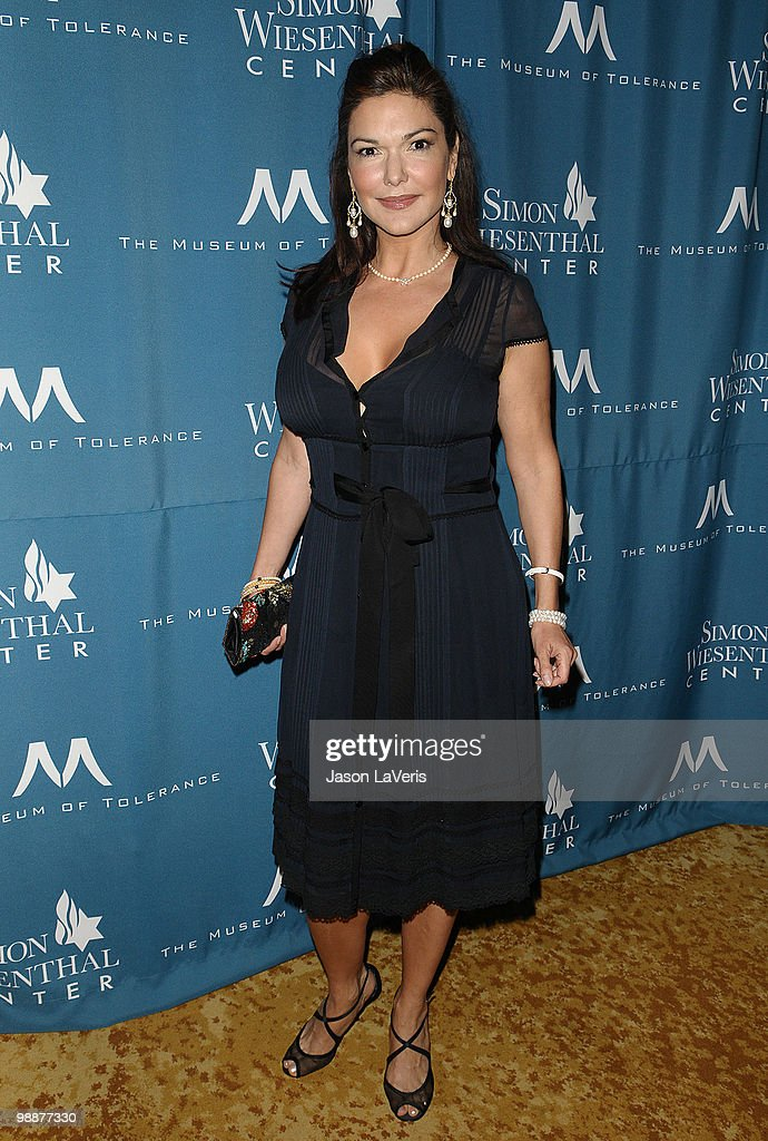 Actress <a gi-track='captionPersonalityLinkClicked' href=/galleries/search?phrase=Laura+Harring&family=editorial&specificpeople=203249 ng-click='$event.stopPropagation()'>Laura Harring</a> attends the Simon Wiesenthal Center's 2010 Humanitarian Award ceremony at the Beverly Wilshire hotel on May 5, 2010 in Beverly Hills, California.