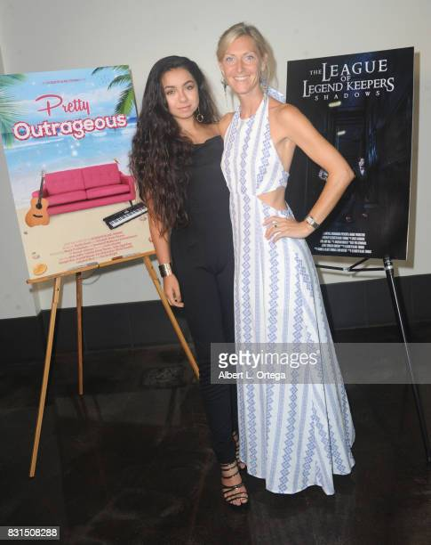 Actress Laura Krystine and producer/director Elizabeth BlakeThomas attend the Screening Of 'Pretty Outrageous' And 'The League Of Legend Keepers'...