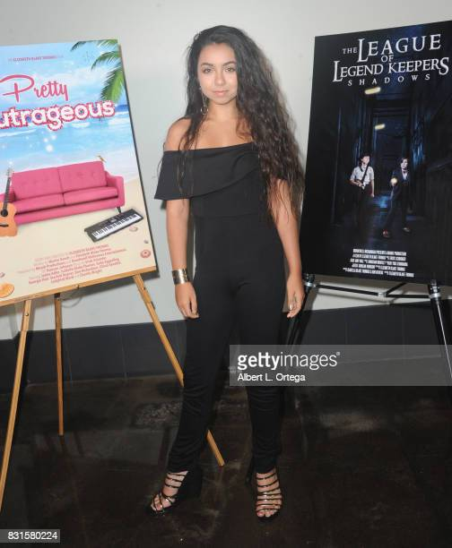 Actress Laura Krystine attends the Screening Of 'Pretty Outrageous' And 'The League Of Legend Keepers' held at ArcLight Cinemas on August 14 2017 in...
