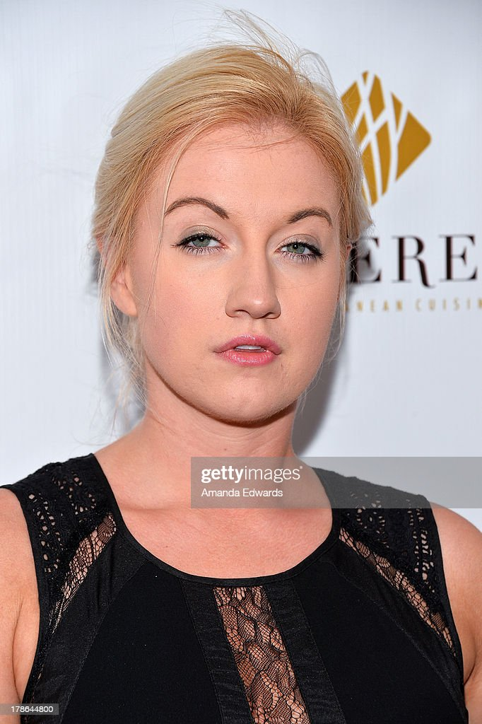 Actress <a gi-track='captionPersonalityLinkClicked' href=/galleries/search?phrase=Laura+Linda+Bradley&family=editorial&specificpeople=9031110 ng-click='$event.stopPropagation()'>Laura Linda Bradley</a> arrives at the Genlux Magazine release party with Erika Christensen at Sofitel Hotel on August 29, 2013 in Los Angeles, California.