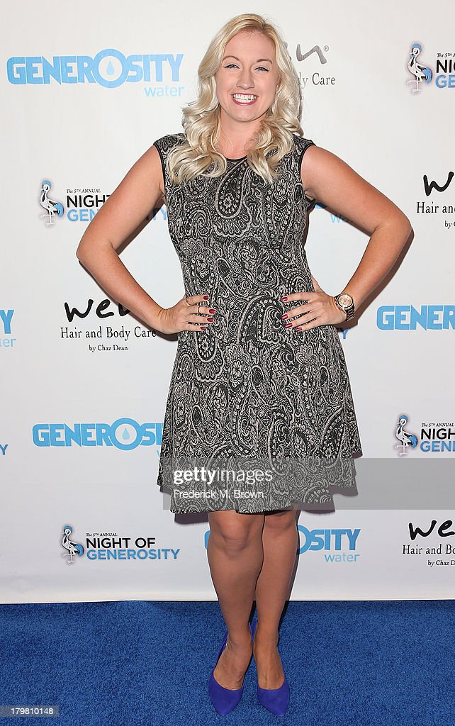 Actress Laura Linda Bradley attends Generosity Water's 5th Annual Night of Generosity Benefit at the Beverly Hills Hotel on September 6, 2013 in Beverly Hills, California.