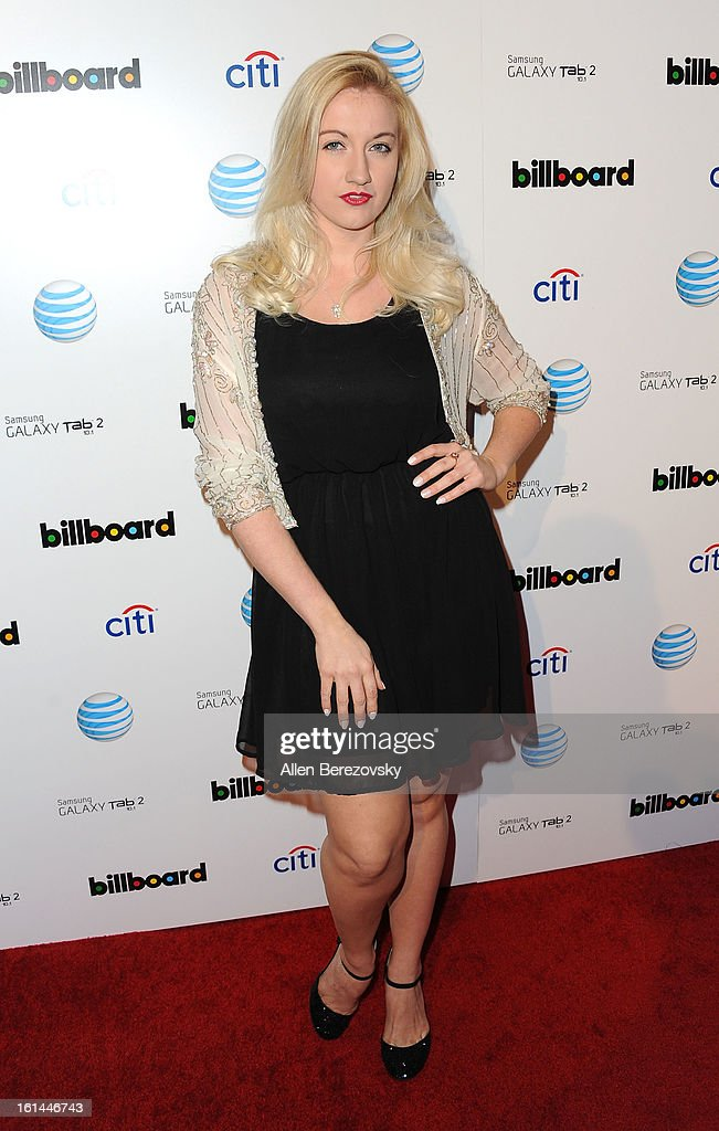 Actress Laura Linda Bradley attends the Billboard GRAMMY after party presented by Citi at The London Hotel on February 10, 2013 in West Hollywood, California.