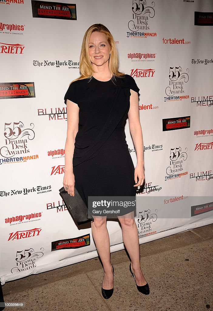 Actress Laura Linney arrives at the 55th Annual Drama Desk Awards at the FH LaGuardia Concert Hall at Lincoln Center on May 23, 2010 in New York City.