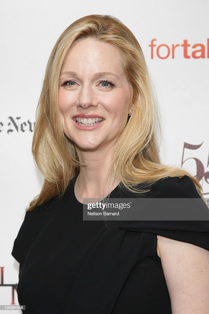 Actress Laura Linney arrives at the 55th Annual Drama Desk Awards at FH LaGuardia Concert Hall at Lincoln Center on May 23, 2010 in New York City.