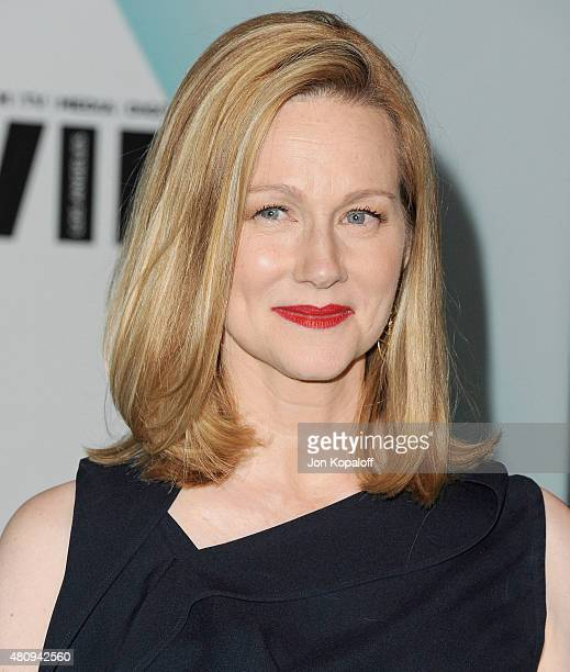 Actress Laura Linney arrives at Women In Film 2015 Crystal Lucy Awards at the Hyatt Regency Century Plaza on June 16 2015 in Los Angeles California