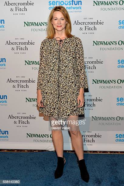Actress Laura Linney attends SeriousFun Children's Network 2016 NYC Gala Arrivals on June 6 2016 in New York City