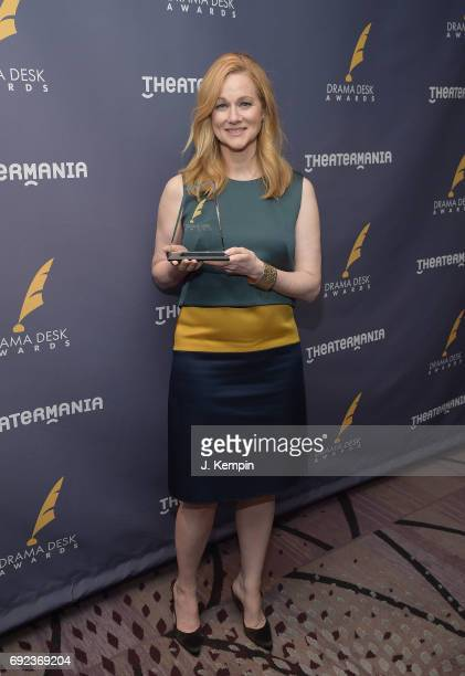 Actress Laura Linney attends the 2017 Drama Desk Awards Press Room at Marriott Marquis Times Square on June 4 2017 in New York City