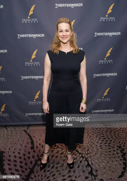 Actress Laura Linney attends the 2017 Drama Desk Nominees Reception at Marriott Marquis Times Square on May 10 2017 in New York City